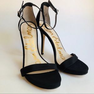 Sam Edelman Eleanor Black Stiletto Heels